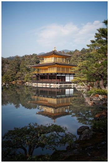 Built Structure Canon EOS 24-70 L Canon5dmk2 Golden Pavilion  Japan Kinkakuji Kyoto No People Outdoors Travel Destinations 京都 日本 金閣寺