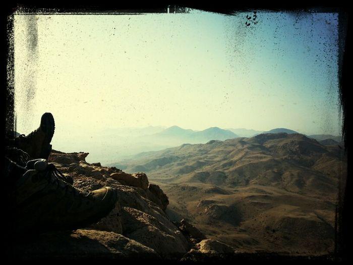 وصباح جميل♥ على قمة الجبل .. ♡