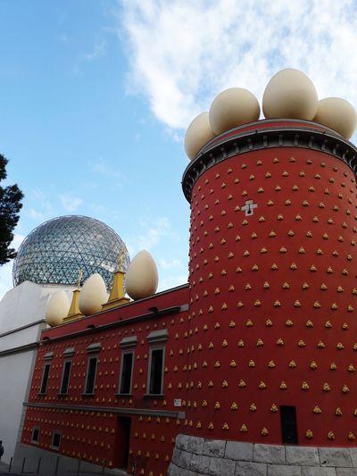Museu Dalí Figueres Catalunya Catalonia Sky Architecture Building Exterior
