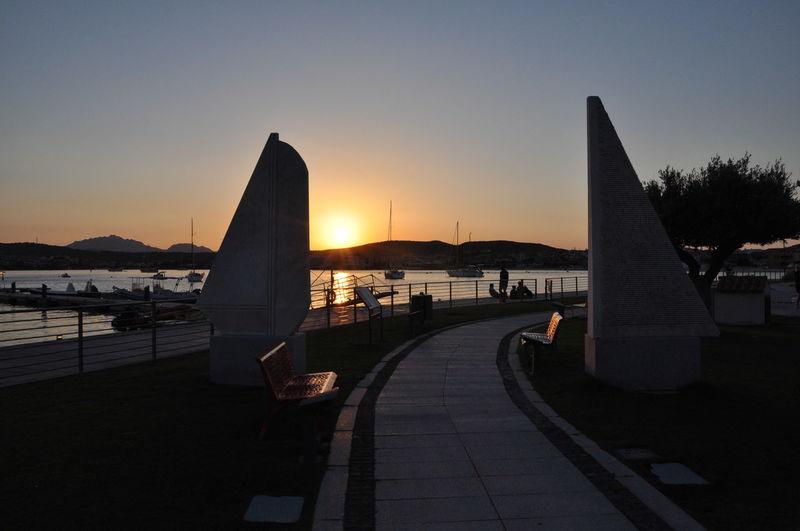tramonto a