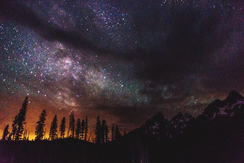 My Best Photo 2014 Milky Way Astrophotography Darkness And Light Night Photography Stars Grandtetonnationalpark Nationalpark Night Sky Nightscape