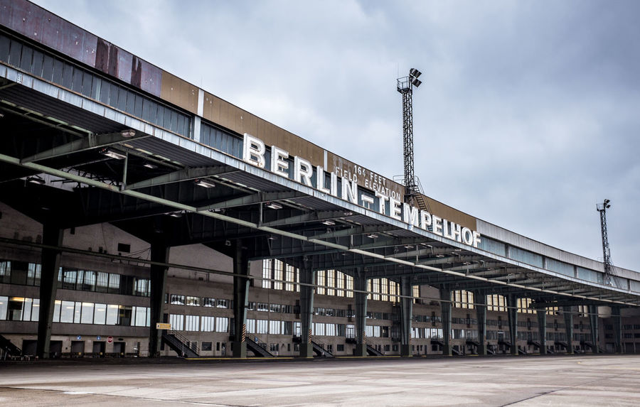 Airfield Abandoned Buildings Amazing Architecture Airport Tempelhof Airport Historical Building Flughafen Tempelhof  Airfield Tempelhof Abandoned Airfield Abandonedbuilding Clouds And Sky Historical Monuments Flughafen Berlin Tempelhof Rollfeld Berlin Tempelhof Architecture Abandoned Places