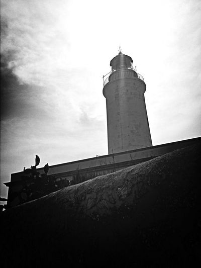 Ligthouse Faro Walking Around Enjoying The Sun Taking Photos Iphonephotography Life Is A Beach Monochrome Black & White Blackandwhite