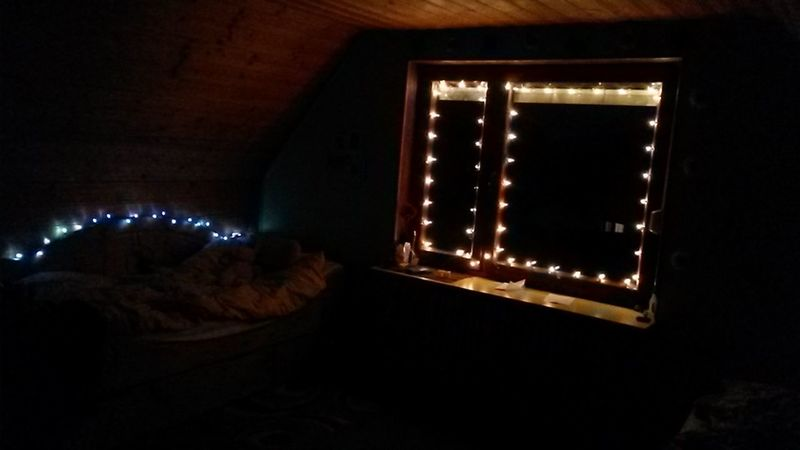 ♡ Lights My Room Comfy  Winter ♡