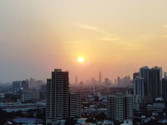 Bangkok Bangkok Thailand. Thonglor Summer Thailand Business Finance And Industry Architecture Dramatic Sky Sky Modern Travel Destinations No People Aerial View Outdoors