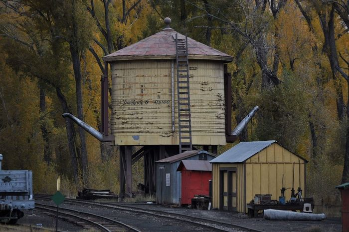 Old Train Station Old Trainyard Steam Train Train Water Refill Train Water Tank Built Structure No People Outdoors Day Architecture Building Exterior