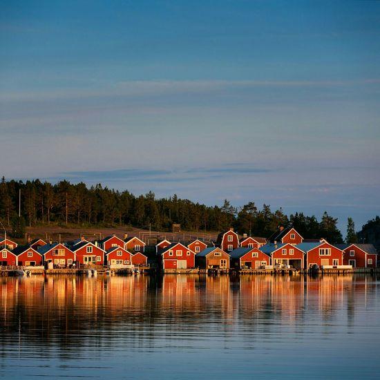 Norrfällsviken Ångermanland Högakusten Landscape Seascape Sweden Scandinavia