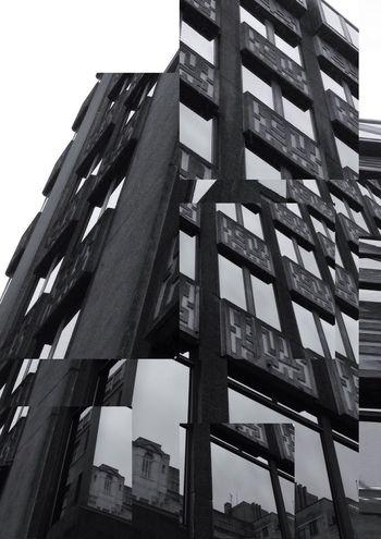Look Up Architecture_bw Decim8 NEM Black&white