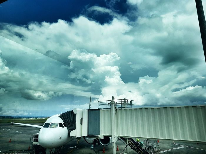 Big-cloud sky drama this afternoon, while waiting to go to Christchurch. Clouds Clouds And Sky Airport Auckland Airport Clouds NZ Auckland Airport Waiting Airport Terminal Airport Cloud - Sky Transportation Mode Of Transport Sky No People Outdoors Day