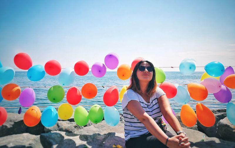 balloons Sea