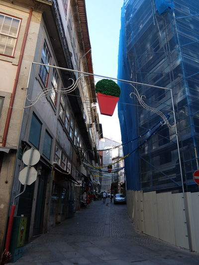 Euro 2016 Flag Green & Red Outdoors Porto Portugal Street Decoration Summer Festival