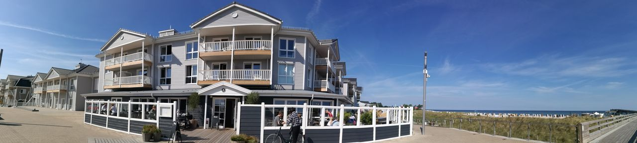 New Beachmotel Architecture Balcony Beach BeachMotel Blue Building Exterior Built Structure City Cloud - Sky Day Holyharbour House Luxury Modern Nature No People Outdoors Residential Building Sea Sky Water Window