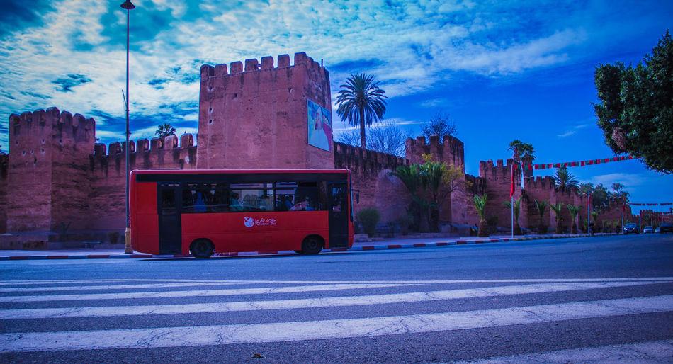 Moroccan Moroccan Style Morocco Taroudant Walls Arabic Bus Day Maroc Mode Of Transport Taroudant Walls المغرب تارودانت سوس ماسة