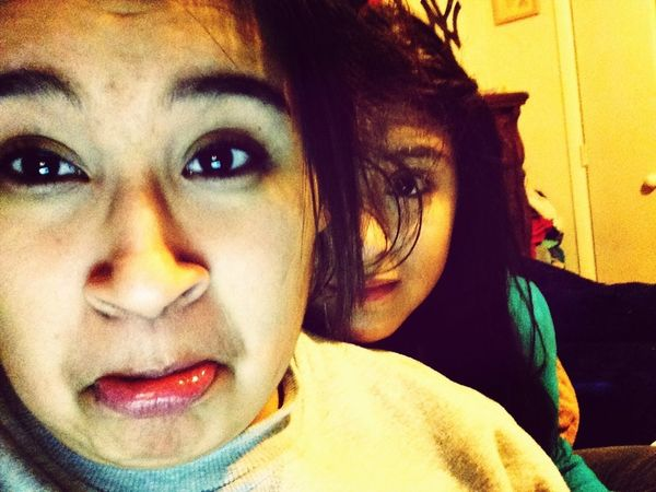 Took This A While Ago I Thought It Looked Funny #sister