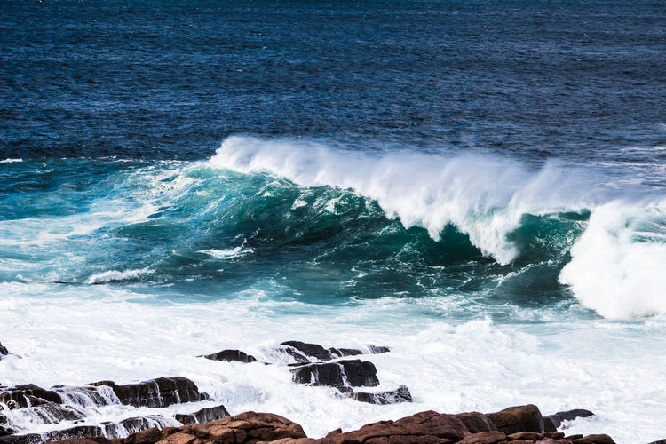 COAST Aquatic Sport Beach Beauty In Nature Beauty In Nature Breaking Day Flowing Water Land Motion Nature Outdoors Power Power In Nature Rock Rock - Object Scenics - Nature Sea Splashing Sport Surfing Water Wave