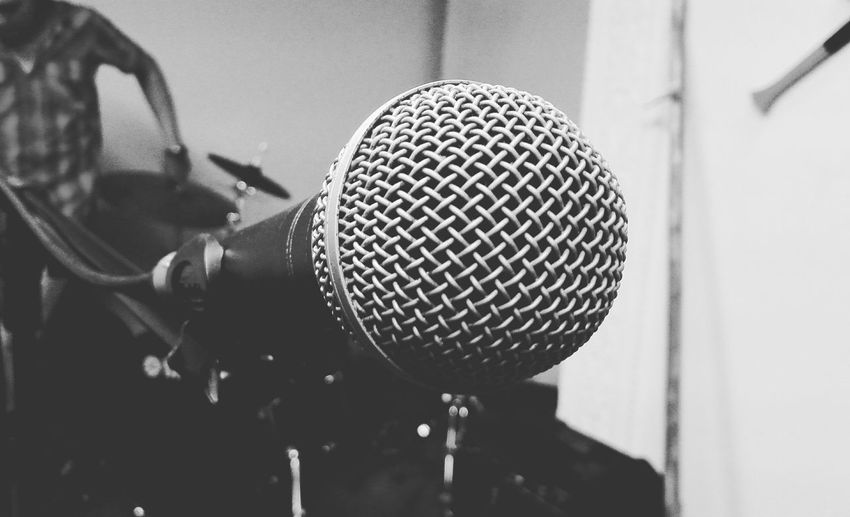 Microphone. Photographer: @JezzuArchila. @EyeEmMusic Musician Music Is My Life Musicians Musica Microphone Blackandwhite Musical Photos EyeEm Best Shots Eye4photography  Eyem Best Shots
