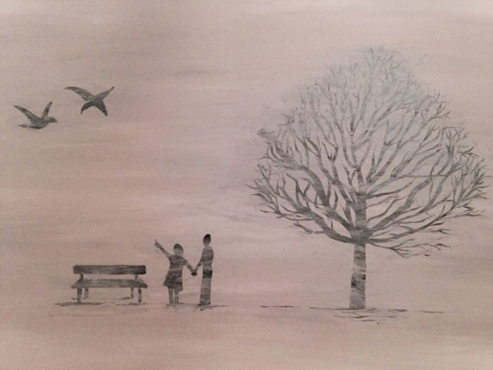 Winter Art #illustration #drawing #draw #tagsforlikes #picture #photography #artist #sketch #sketchbook #paper #pen #pencil #artsy #in Myartwork Painting Blackandwhite