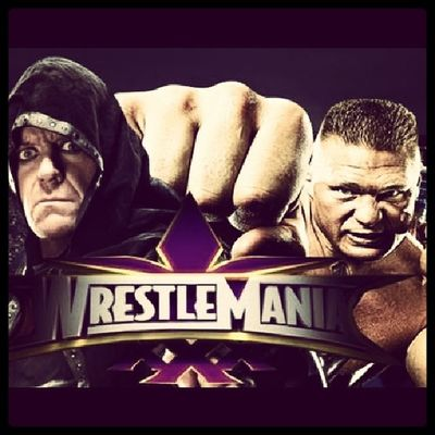 Tonight will be the epic night Icantwait to @wwe Wrestlemania TheStreak vs Thebesat @theundertaker vs @brocklesnarF5 The beast will break that streak because thebeastisthebest