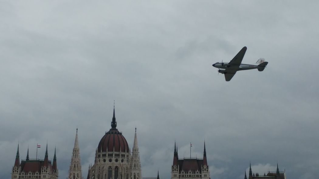 Redbullairrace Budapest, Hungary DC 3