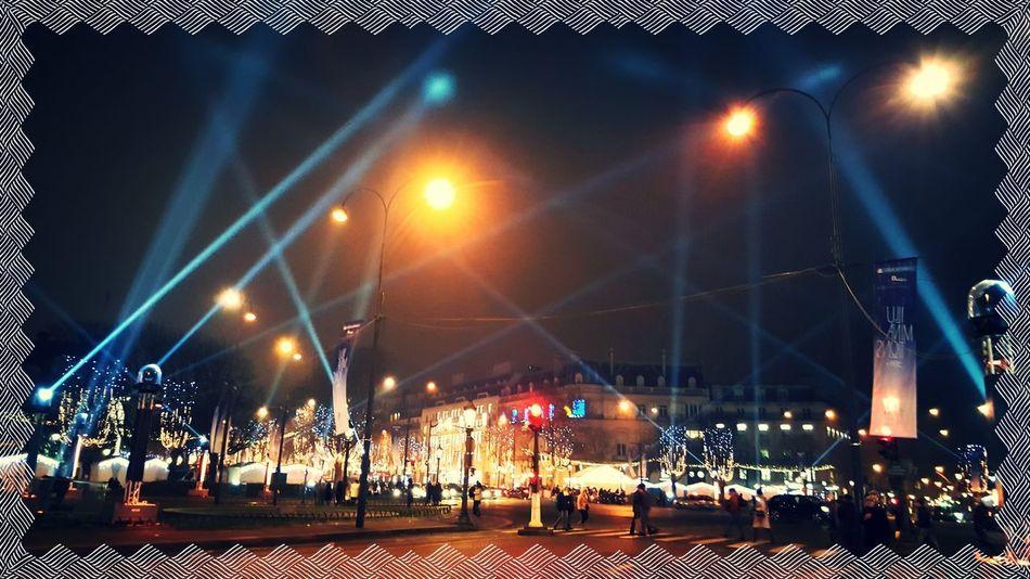 Lights Night Christmas Lights