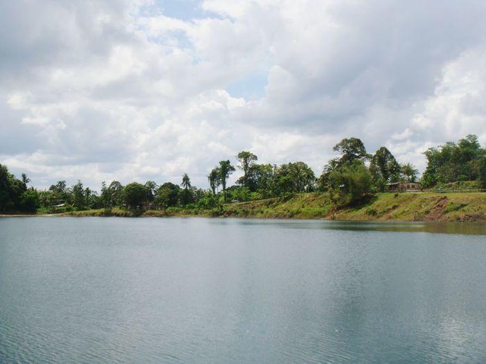 Tasik Biru Water Sky