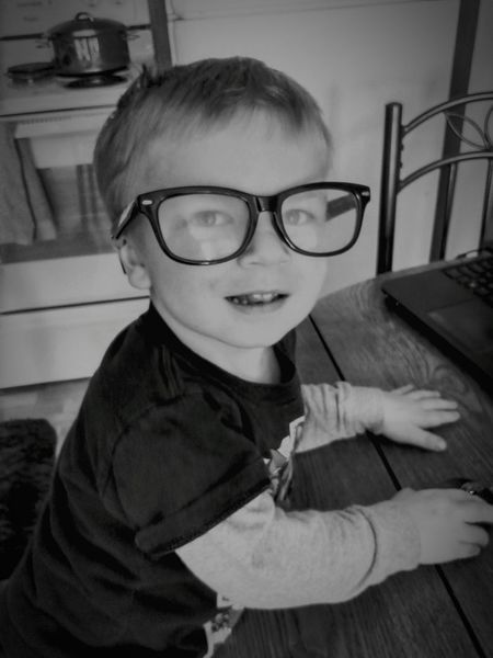 Eyeglasses  Child One Person Indoors  Childhood Looking At Camera People Happiness Children Only One Boy Only Boys Will Be Boys!  Son Hey Mom Watch This My Sweet Boy Such A Big Kid Memories ❤ Boys Will Be Boys!  Sioux Falls, South Dakota Laughing Out Loud Being Silly Mama And Her Boy Smiling Happiness A Boys Life Hanging Out