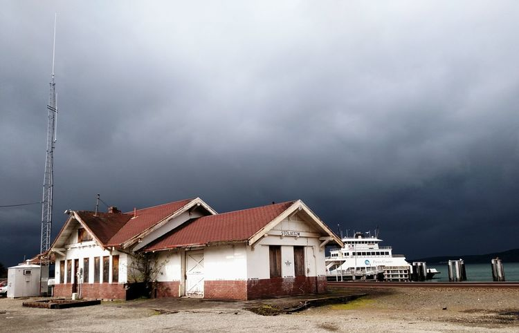 Brewing Storm EyeEmNewHere Storm Cloud Abandoned Building Exterior Outdoors No People Architecture Cloud - Sky