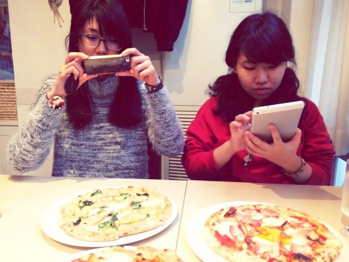 Good night EyeEm from Japan ;) Pizza Pizza Time Pizza Party! Moments Breaktime 休憩 Hora De Almoço