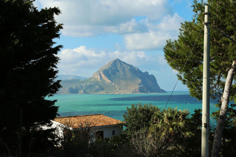 Sicily Sicily, Italy Beauty In Nature Mountain Mountain Range Nature Scenics Sea Sea View Sky Tranquil Scene