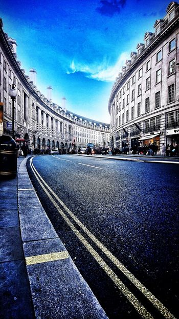 Regentstreet Sky Architecture City Built Structure Cityscape Urban Geometry Urban Urbanphotography Streetphotography Outdoors Cityscape Urban Skyline London PhonePhotography Outdoor Photography Mobilephotography Design Designer  Lines And Angles Me, My Camera And I Road Building Exterior Street Low Angle View EyeEm LOST IN London