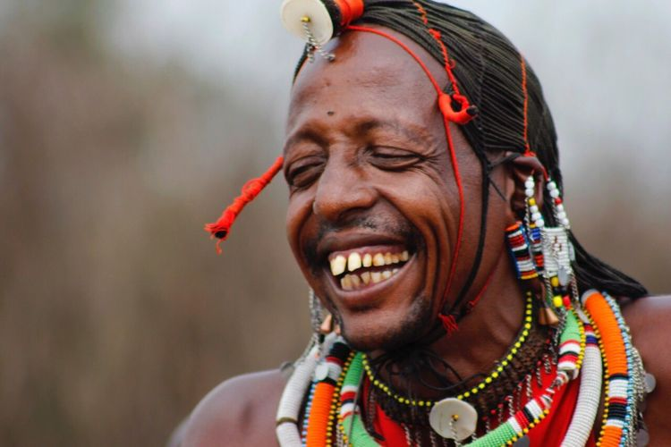 Something made the Masai Warrior laugh Masai Masai Mara Masaiwarrior Tribe Tribesman Traditional Traditional Culture African Beauty Africanculture Travel Photography TravelAfricaStory Africanadventure Seekandfind Luck Traveldiaries Natgeo Natgeoyourshot Natgeotravel Natgeoafrica Canon 60d Canonphotography WondersOfNature Kenya Whyilovekenya Feel The Journey