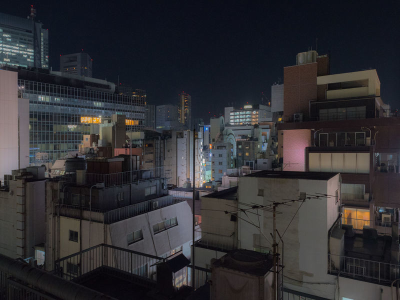 NIghtshot in Tokyo. Japan Japan Photography Japanese Style Night Lights Nightphotography Roof Rooftop Urban Exploration Architecture Building Exterior Built Structure City Cityscape Illuminated Neon Lights Night Night View Nightshot No People Outdoors Rooftop View  Rooftops Sky Urban Urban Skyline Colour Your Horizn