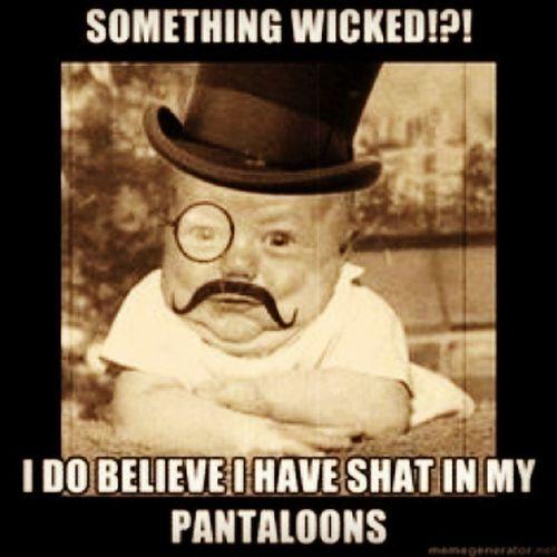 Haha Pantaloons Shit SHAT Byjove