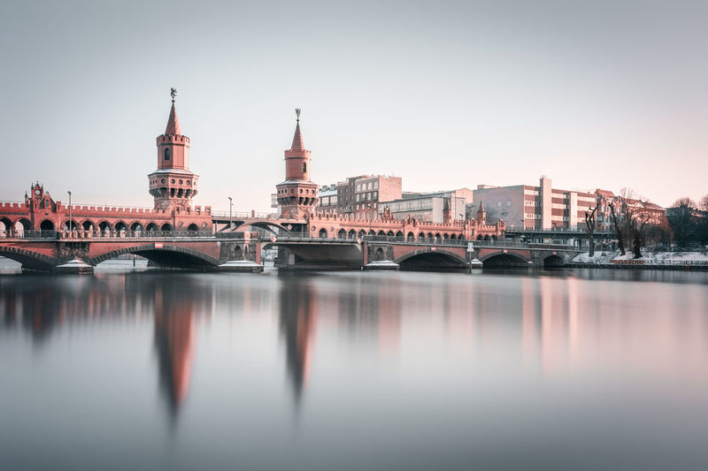 Oberbaumbrücke | Berlin, Germany 2016 Architecture Berlin Berlin City Berlin Friedrichshain Berlin Hipster Berlin Kreuzberg Bridge Capital Cities  City City Life Day Fine Art Formatt Hitech Hipster Long Exposure Nikon Oberbaumbridge Oberbaumbrücke Philipp Dase Reflection River Sigma Tourism Travel Destinations Waterfront