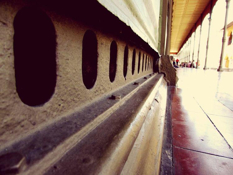 Detalles de la ciudad Streetphotography Streets Calles Palacio De Hierro Inferior RAS Suelo Punto De Fuga Fugue Orizaba