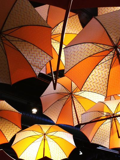 Art Umbrella Low Angle View Rain No People Calm Scenics Colors Maximum Closeness Carnival Crowds And Details
