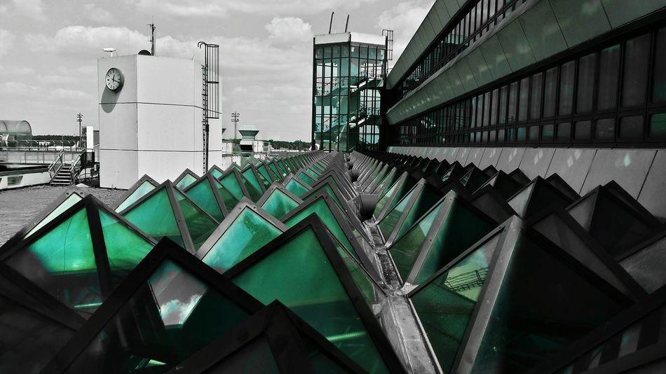 Txl Airport Glassroof Colorsplash EyeEm Best Shots AntiM Architecture Hello Berlin! In The Terminal The Architect - 2015 EyeEm Awards