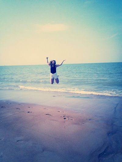 At The Beach Loving Life!