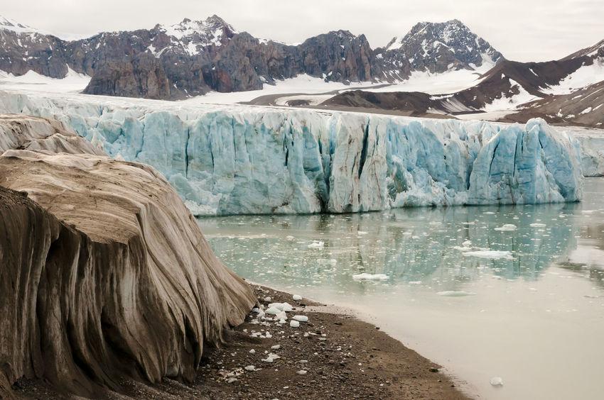 July 14 Glacier - Spitsbergen - Svalbard 14 July Ice Norway Spitsbergen Arctic Cold Temperature Glacier Ice Svalbard