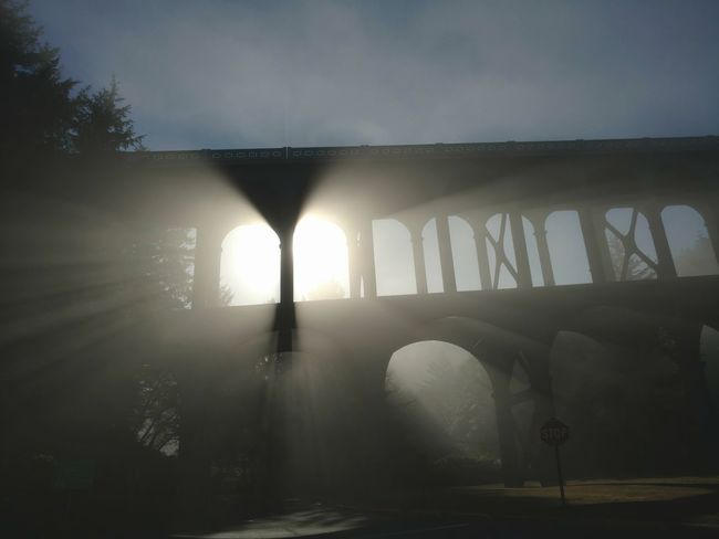 Heceta Heceta Light House Bestjob Bridge Hwy101 101 Oregon Fog Morning Light Morning Fog No People Architecture Sky PNW PNW Summers Coastal Life EyeEmNewHere