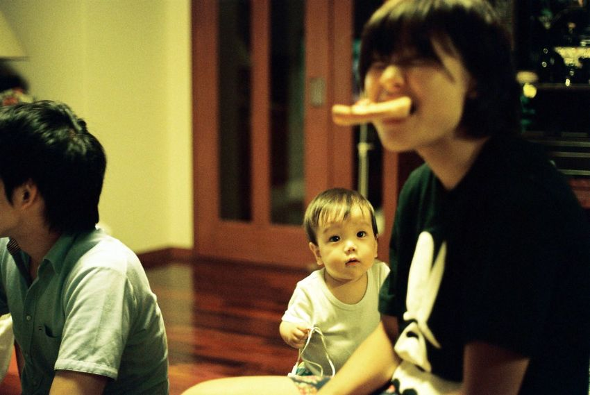 We Are Family Nikonf2 Filmcamera Film Filmphotography