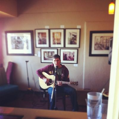 Ben Anderson here on the guitar this morning.