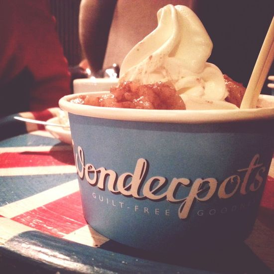 Time For Dessert! Ice Cream Cool Place Frozen Yogurt