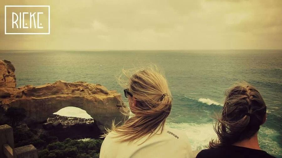 enjoying the scenery at the arch, Greatoceanroad EyeEm Best Shots - People + Portrait Sea_collection SeascapeAmpt_collectionOceanTaking PhotosVintageWeAreJuxt.comShootermagAustralia