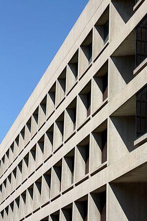 I. M. Pei Architecture Architectural Detail Repetition Rythm Boston USA Concrete Concrete Wall Building Exterior