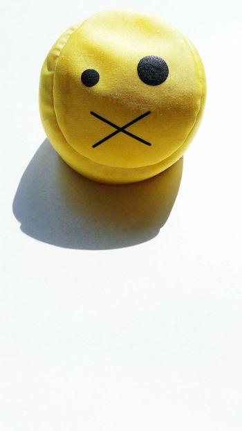 """""""Pssst!"""" Omegatainment Smiley Yellow Ball Funny Faces Dizzy Background"""