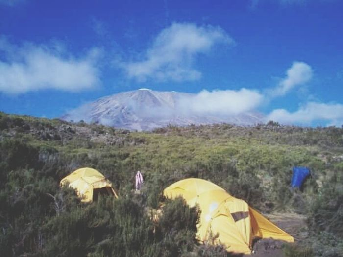 MountKilimanjaro Going To Summit Mountain Adventure Nature Landscape Basecamp Summit View Outdoors Tanzania 2006 Collection Bonding Imagination Nophotoshop Still Life Photography Streetphotography Archival Real Life