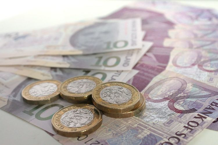 British Pound Business Close-up Coin Currency Day Finance Indoors  Investment Money New Pound Coins No People Paper Currency Savings Still Life Wealth