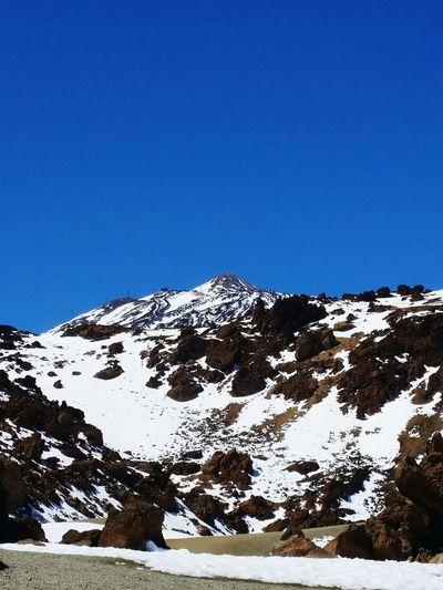 Teide Snow ❄ Nieve 2016 Winter