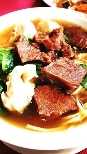 I love noodles? Chowkingfortoday Spicy Beef Wanton Noodles Chinese Food Hungry!